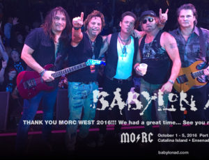 Monsters of Rock Cruise 2016, So Savage The Heart
